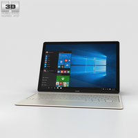 huawei matebook 3D model