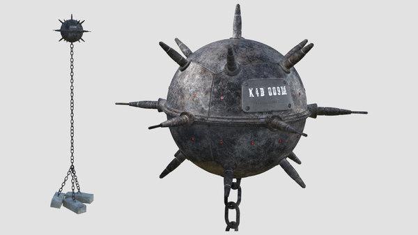 3D underwater naval