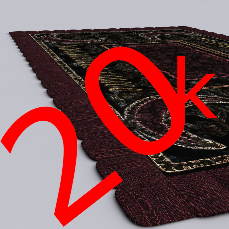 3D inch rug 4