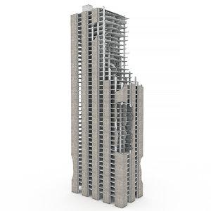 nyc demolished building 01 model