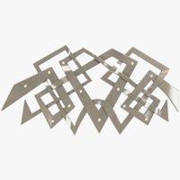 metal pattern 3D model