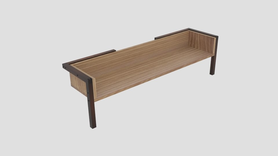 3D bench designs modern model