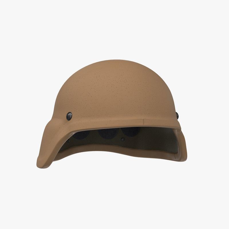 helmet ech base 3D model