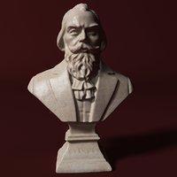 Brahms Bust