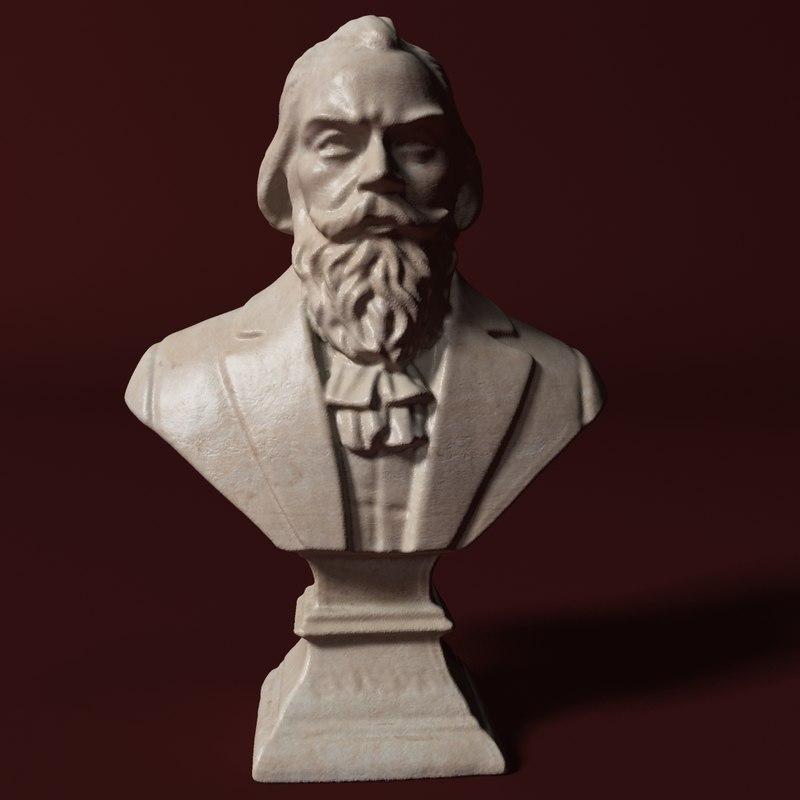 brahms status 3D model
