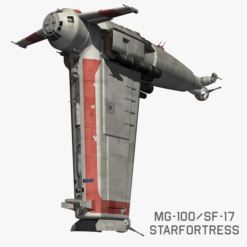 3D starfortress star wars