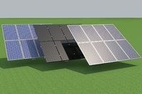 Solar cell static