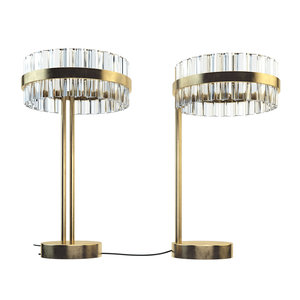 3D saturno led table lamp