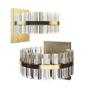 saturno led wall light model
