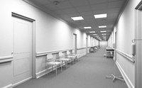 hospital corridor model