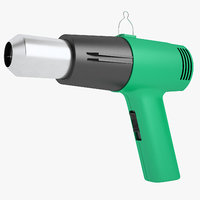 industrial heat gun 3D model