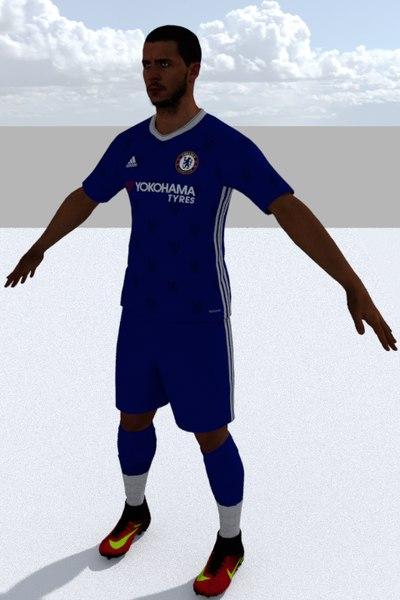 football player 1 3D