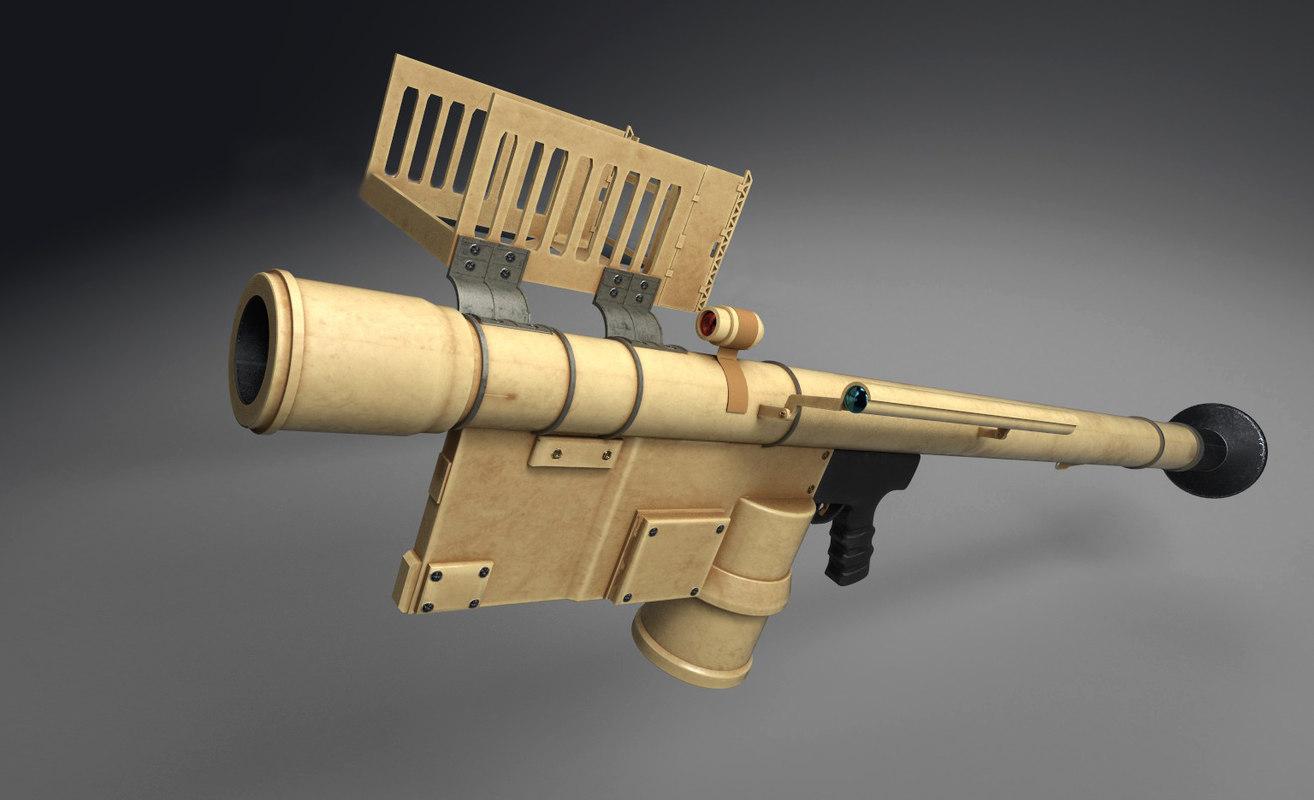 3D model fim-92 stinger pack 7