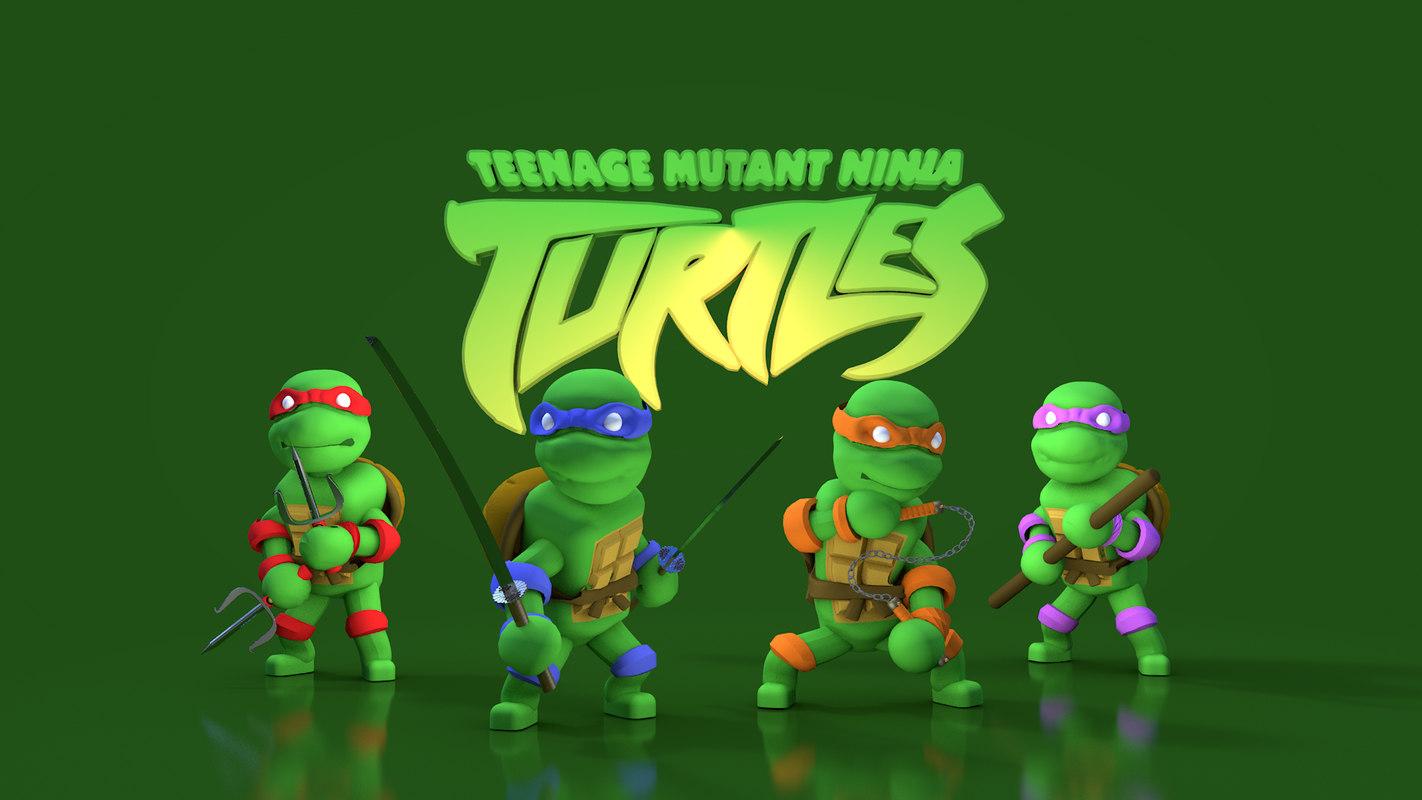 3D teenage mutant ninja turtles