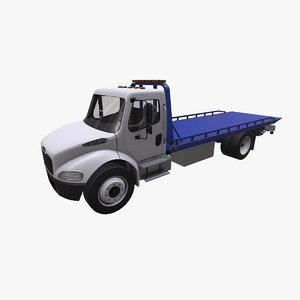 3D freightliner wrecker
