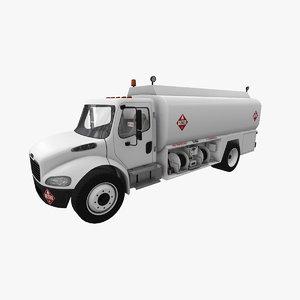 fueler freightliner m2 3D model