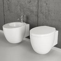 le giare toilet bidet 3D