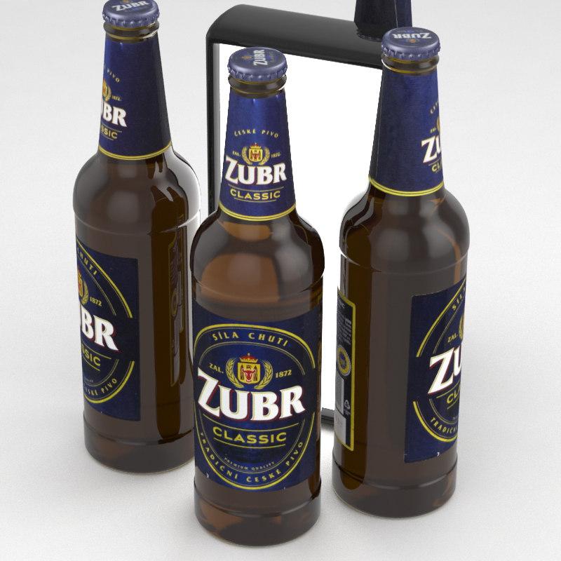 beer pivo 3D model