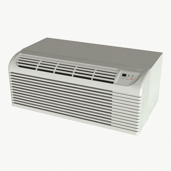 3D model realistic air conditioner ptac