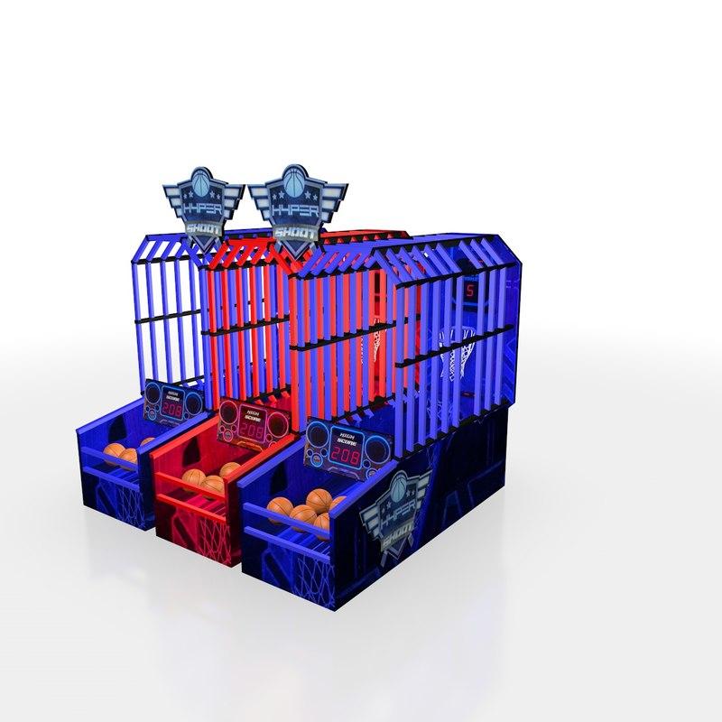 hypershoot arcade 3D model