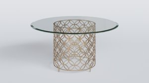 table blender 3D