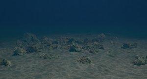 sea floor 3D model