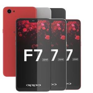 3D model oppo f7