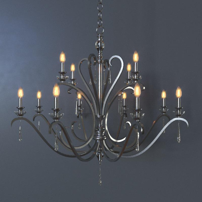 3D celine lamp