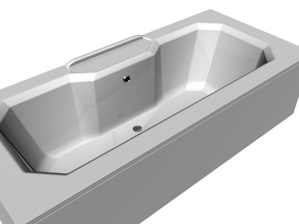 3D model bath