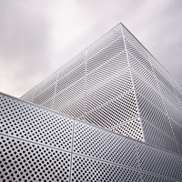 3D architectural perforated metal