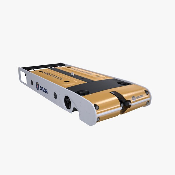 saab seaeye sabertooth 3D model