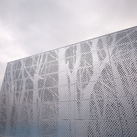 3D perforated metal panel 7