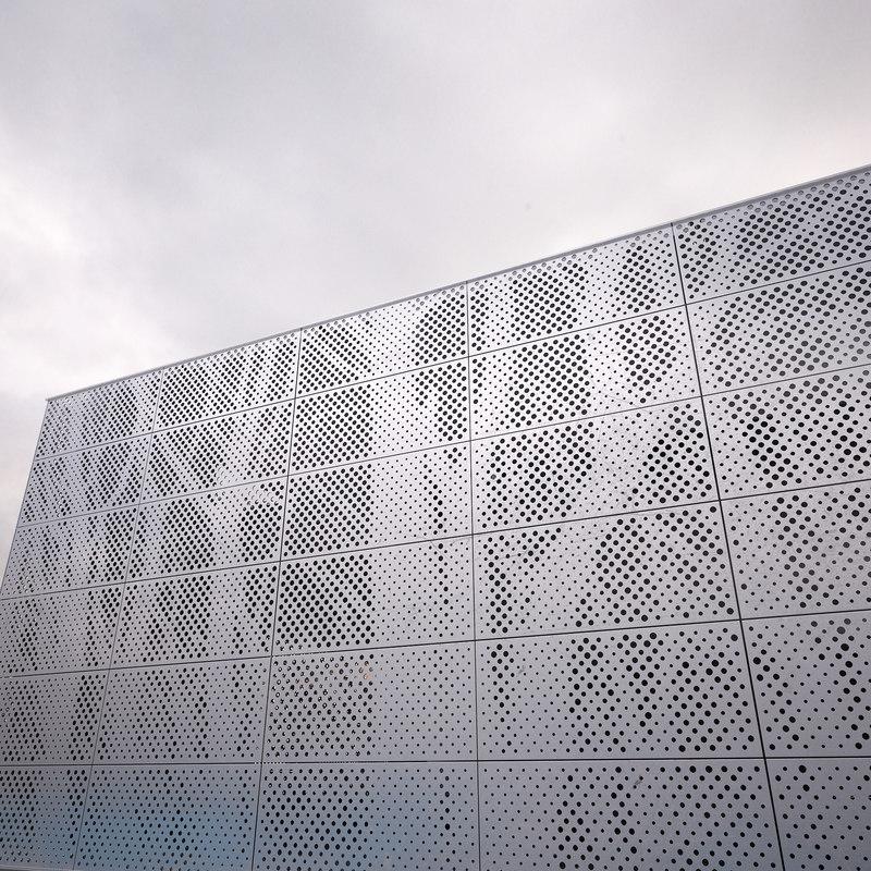 3d Architectural Perforated Metal Model Turbosquid 1276388