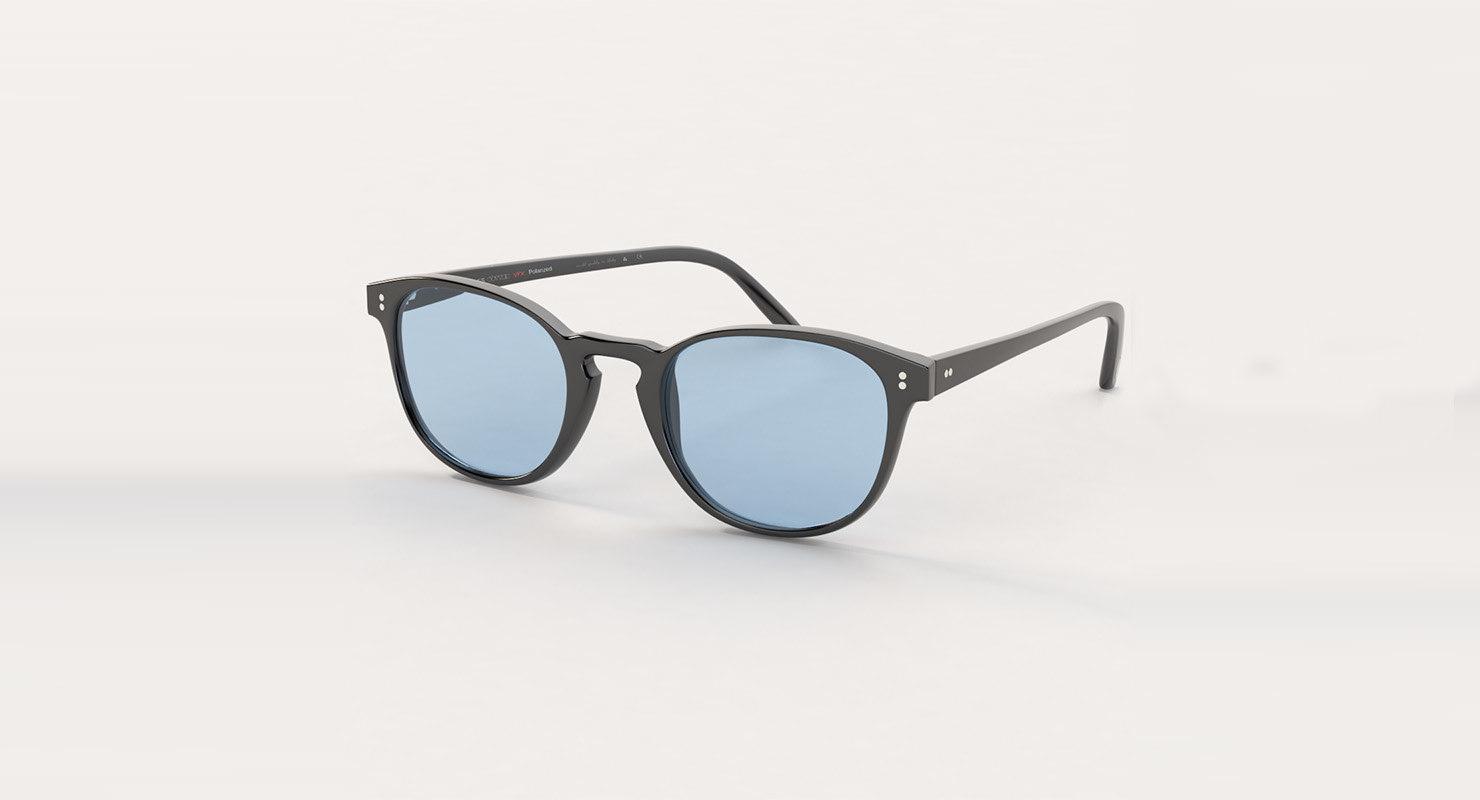 d98ef1dfa0 Oliver Peoples Fairmont 49 Sun Black Indigo Photochromic Sunglass 3D. by  3DReady. black glass 3D