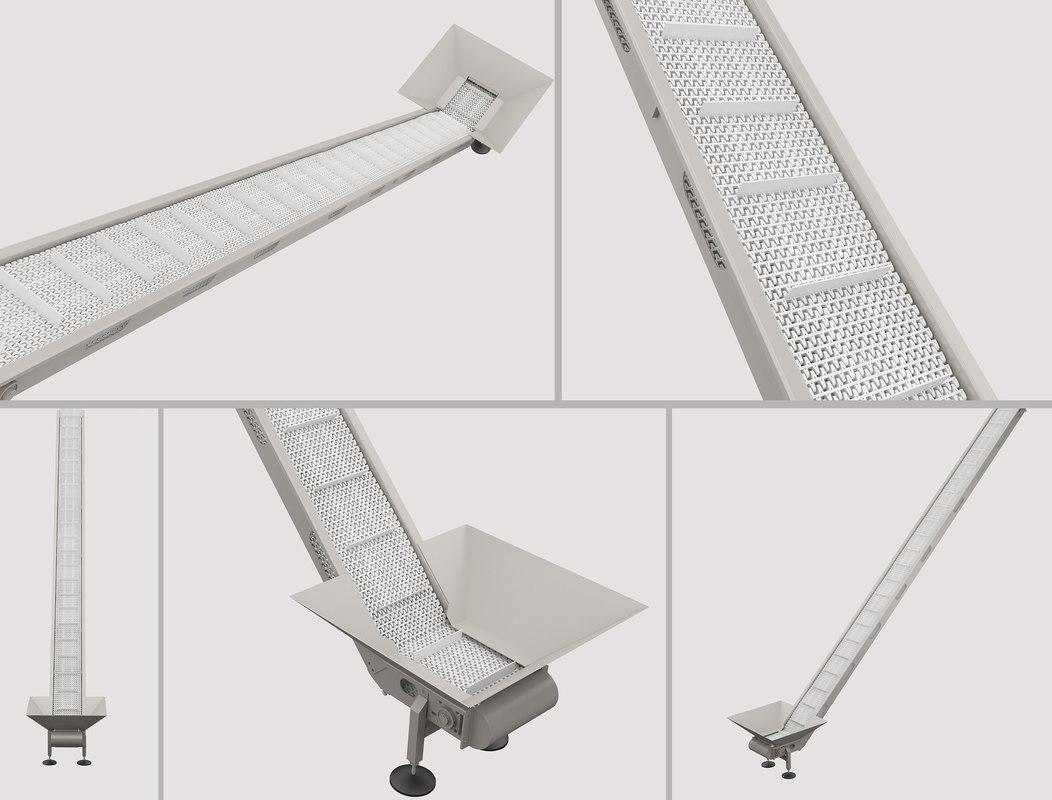 conveyor elevator 3D model
