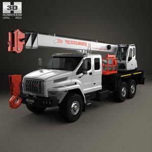 3D ural crane 2015 model