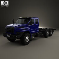 ural chassis 2015 3D
