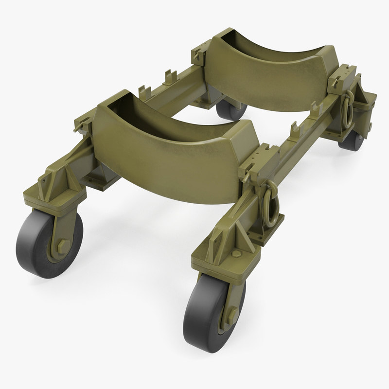 aerial bomb carriage 3D model