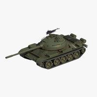 wz-120 tank pla 3D model