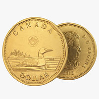 Canadian Dollar Coin Loonie