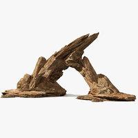 rock arch pile sandstone model