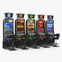 3D casino slot machines