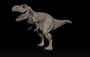 sculpture t-rex 3D model
