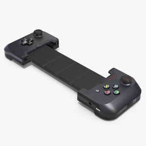 3D model gamevice controller