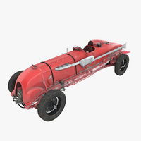 3D 1929 bentley birkin blower model