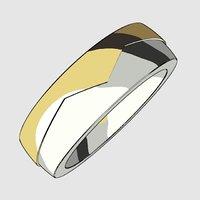 printable unisex ring model