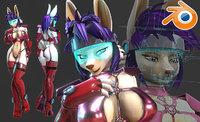 Cyber Bunny NSFW