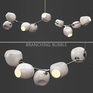 3D branching bubble lindsey adelman