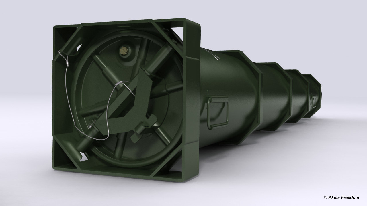 3D ammunition container pa-150 hydra