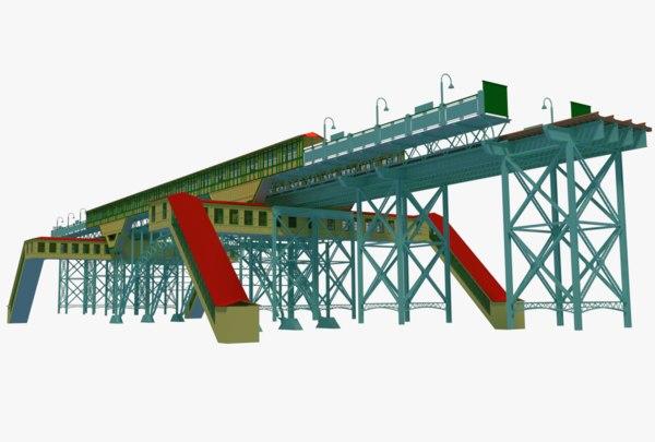ny nyc metro 3D model
